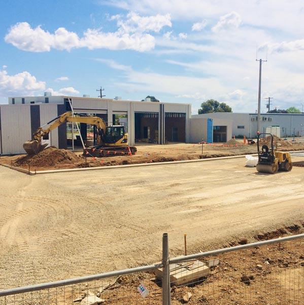 Echuca CFA Concrete Pavement 1