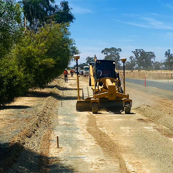 Earth works project shared Path