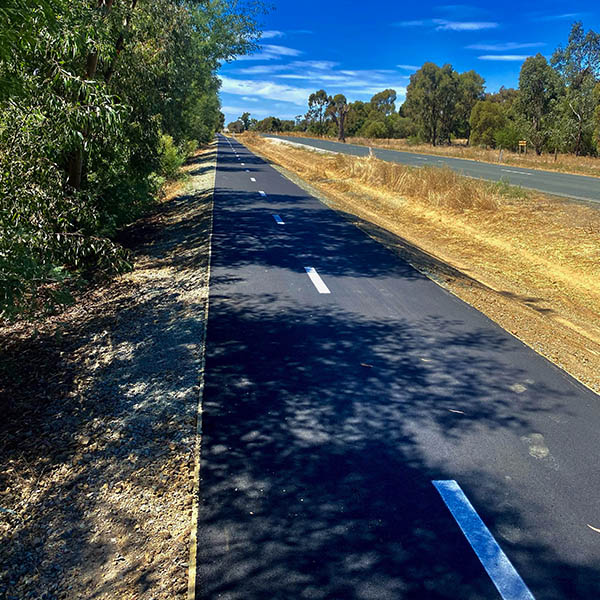 Earthworks civil shared path3