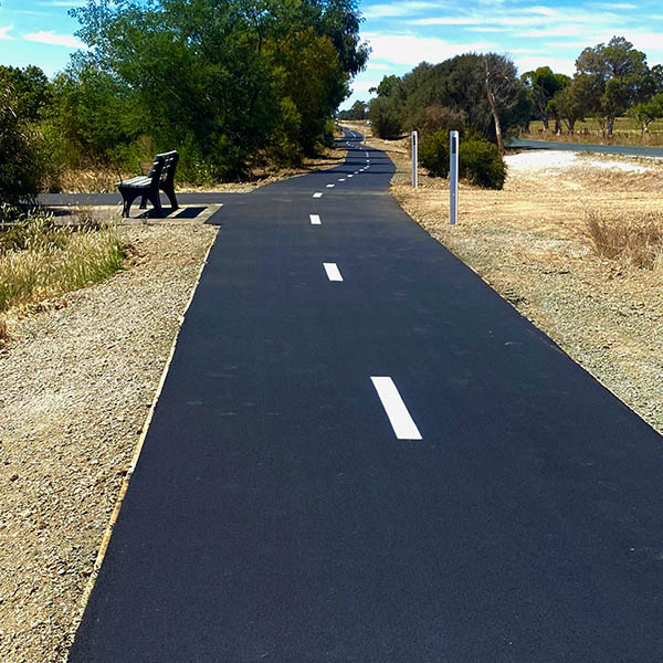 Earthworks civil shared path4